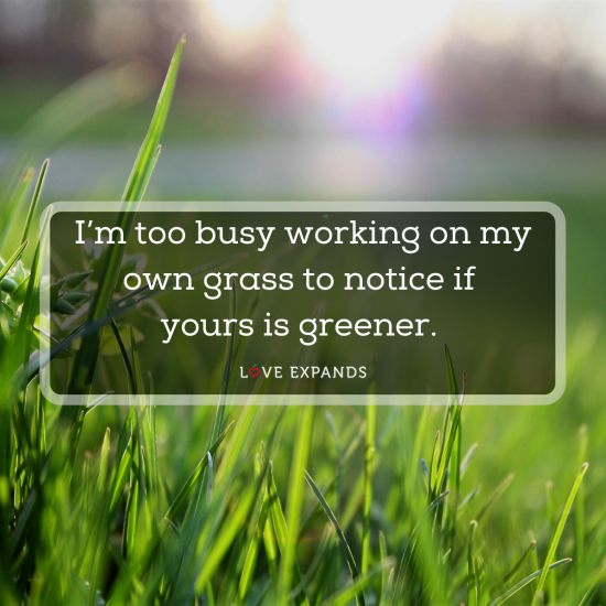Grass is not greener on the other side quote