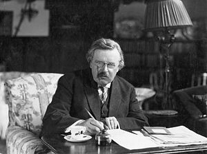 Best quotes by Gilbert K. Chesterton
