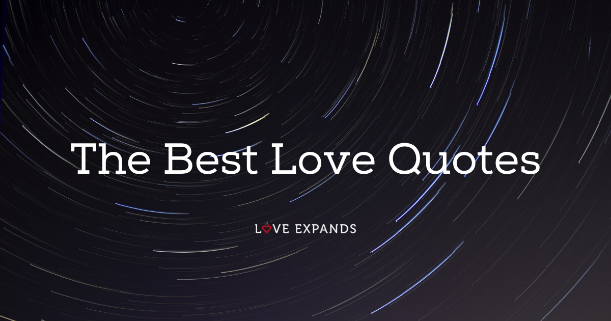 The Best Love Quotes